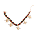 Wholesale Accessories- Gold Bee Charm Anklet-2