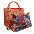 Wholesale Jewelry- Coral Laser Cut Tote Bag Set-4