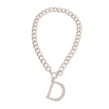 Wholesale Supplier- Silver Dior Style Charm Necklace-2