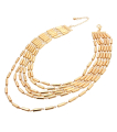 Wholesale Accessories- Beads Chain Necklace Set-2