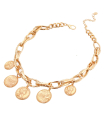 Wholesale Accessories- Coin with Chain Necklace Set-2