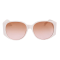Wholesale Accessories- White Rounded Wide Arm Sunglasses-2