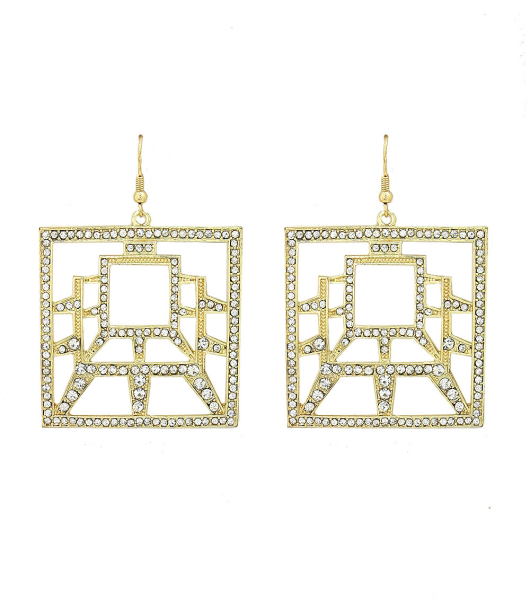 Wholesale Accessories- Clear Earrings-1