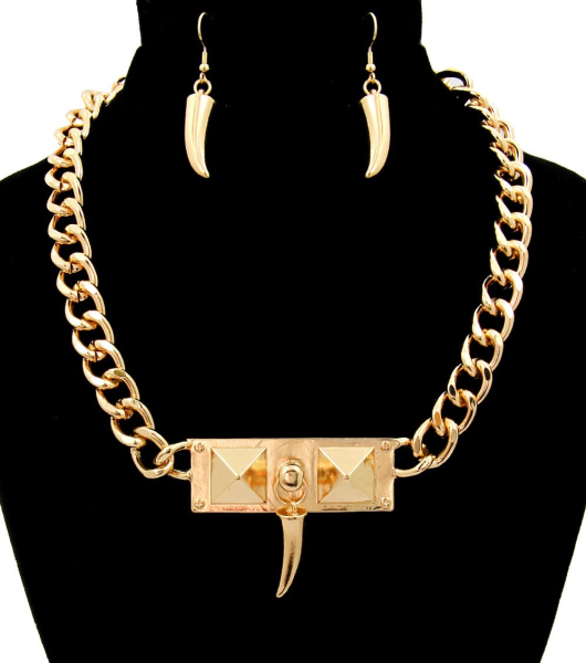 Wholesale Accessories- Gold Necklace Sets-1