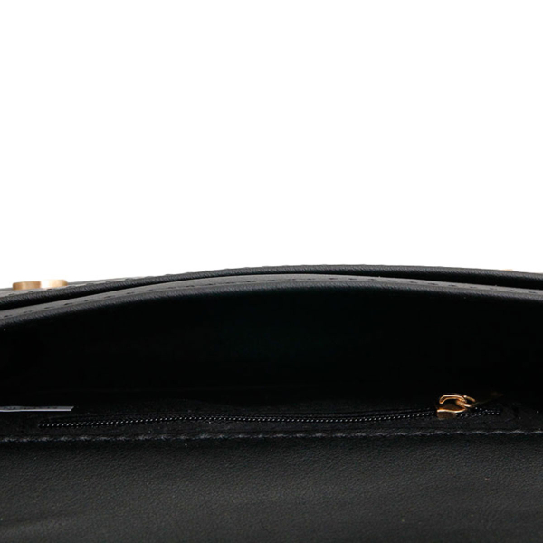 Wholesale Supplier- Gucci Style Black Quilted Waist Bag-5