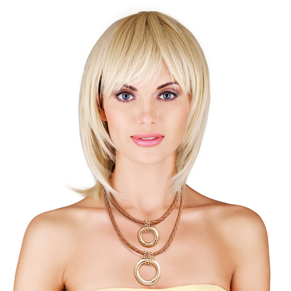 Wholesale Jewelry- Brown Leather Ring Necklace-1