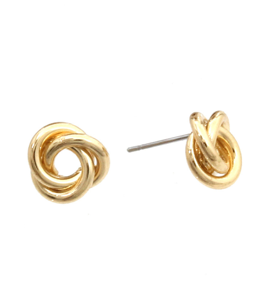 Wholesale Accessories- Simple Metal Stud Earrings-1